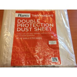 "Taskmasters Double Protection Dust Sheet 12""×9"" kétrétegű porvédő takaró"