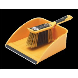 JCB TOUGH DUSTPAN & BRUSH