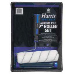 "Harris Sure Grip roller set 9"" x 1,5""/229mm x 38mm 4519"
