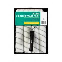 """Harris T-Class 6 Roller Trade Pack 9""""×1,75""""/229mm festő készlet 6db hengerrel"""