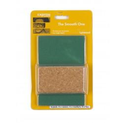 Express Sanding Block csiszoló papír készlet 6db + csiszoló tuskó